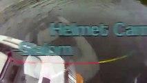 Helmet Cams - Slalom Skiing