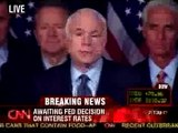 John McCain, Remarks: CNN 10/29/08