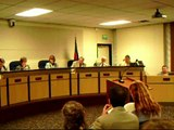 School Board President says no to questions to be asked