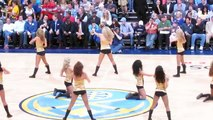 Denver Nuggets Dancers - April, 11, 2011. Nuggets vs. Warriors