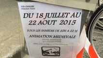 La balade du roi René, dans les rues d'Angers