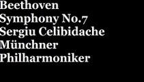 Beethoven Symphony No.7  Sergiu Celibidache