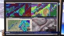 Météo : 40 départements placés en vigilance aux orages