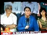 NDTV Show We the people: I asked the quation in this debate