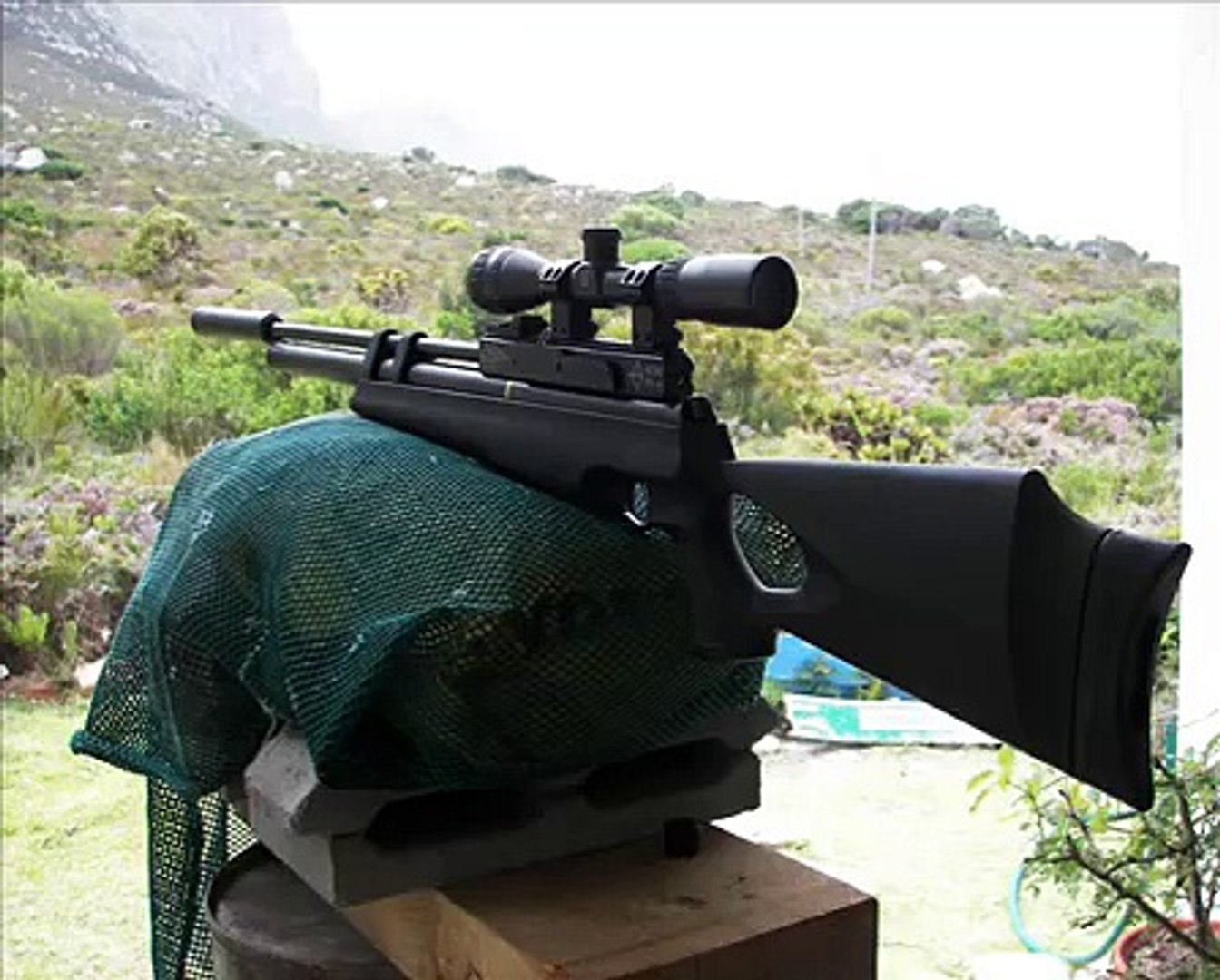 Hatsan AT44-10 video