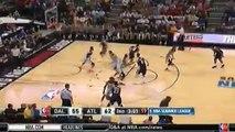 Bobby Ray Parks Jr. Lay-up shot Dallas vs Hawks July 18,2015 - NBA Summer League