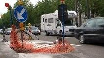 """VAB: """"Amerikalei Antwerpen, augustus 2009: 30 dagen chaos voor één dag werk..."""""""