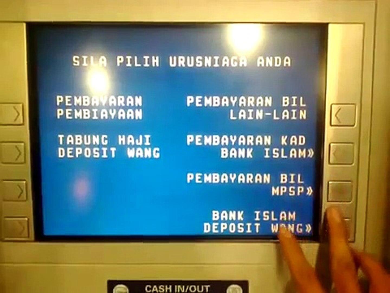 Cara Bank In Duit Bank Islam Video Dailymotion