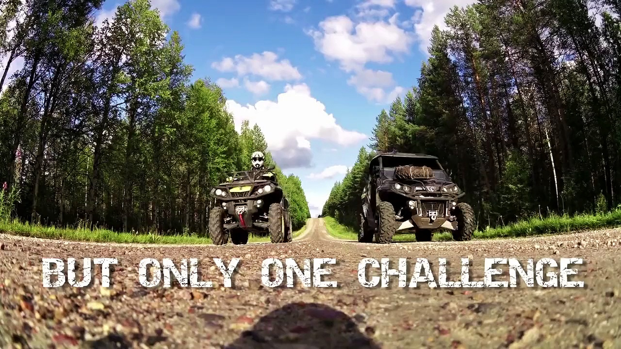 CAN-AM OUTLANDER – ACROSS FINLAND – Off-Road adventure