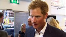 PRINCE HARRY INTERVIEW ABOUT NEWBORN PRINCE GEORGE