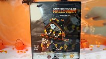 Kids Toys Extreme Building a Haunted Halloween Gingerbread House with Dracula Mater