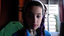 Gothic purple cut crease & ombre lips makeup tutorial | Undead Bunny