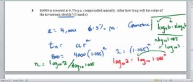 Year 11 Specialist Maths:  Unit 1 Exam revision - Short Answer questions