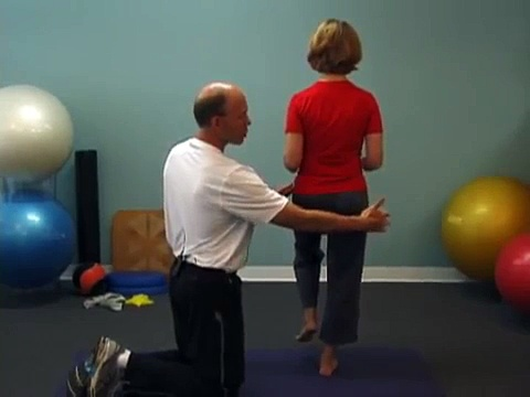 Balance Test From Core Wellness Institute Posture Coaching Course