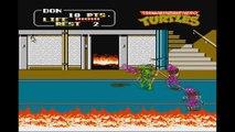 Top 25 Nintendo ( NES ) - Teenage Mutant Ninja Turtles 2 / TMNT II