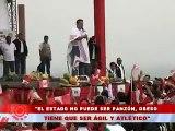 """Ollanta Humala:""""El Estado no puede ser panzón, obeso tienen que ser ágil y atlético"""""""