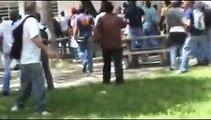UCV Protestas con Bombas Lacrimogenas