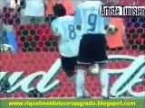 Riquelme todos los goles por la Seleccion Argentina Mayor