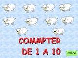 Apprendre les chiffres en espagnol, Los numeros de 1 a 10