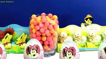 Barbie Play Doh Kinder Surprise Eggs Cars 2 Mickey Mouse Hello Kitty Spongebob Frozen eggs barbie 3