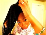 (39) Natural Hair: Quick Styling #12: Styling Senegalese Twists