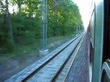 Modernized railway in Czech Republic, Modernizovaný železniční koridor u Tábora