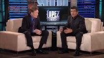 Conan Obrien at Lopez Tonight  pt2