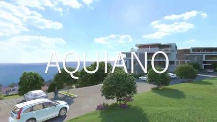 Agence immobilière Evian AQUIANO programme neuf à Evian-les-Bains appartement en VEFA du T2 au T4 en attique