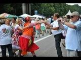 Still-Leben A40 Jester Dancers tanzen Square Dance