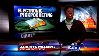 Credit Card Co- Called Electronic Pickpocketing 'Major Concern' – Atlanta News Story – WGCL Atlanta