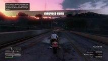 Figure Incroyable En Moto #Gta Online #1 Stunt