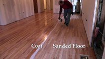 Applying Water Based Finish to a Hardwood Floor