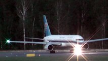China Southern Airlines Boeing 757 Flights CZ6001/6002 landing takeoff UUEE