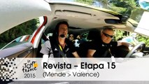 Revista - Etapa 15 (Mende > Valence) - Tour de France 2015