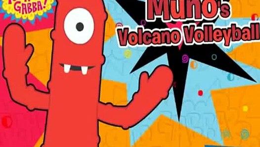 Yo Gabba Gabba Munos Volcano Volleyball Animation Nick Jr Nickjr Cartoon Game Play - video ...