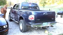 toyota pickup exhaust flowmaster 40 22re - video dailymotion
