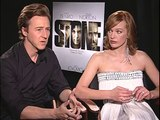 Edward Norton and Milla Jovovich Interview for STONE