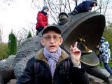 9. Giant Toad in the center of Kyiv, Ukraine, by Entomologist in Ukraine (ENG)