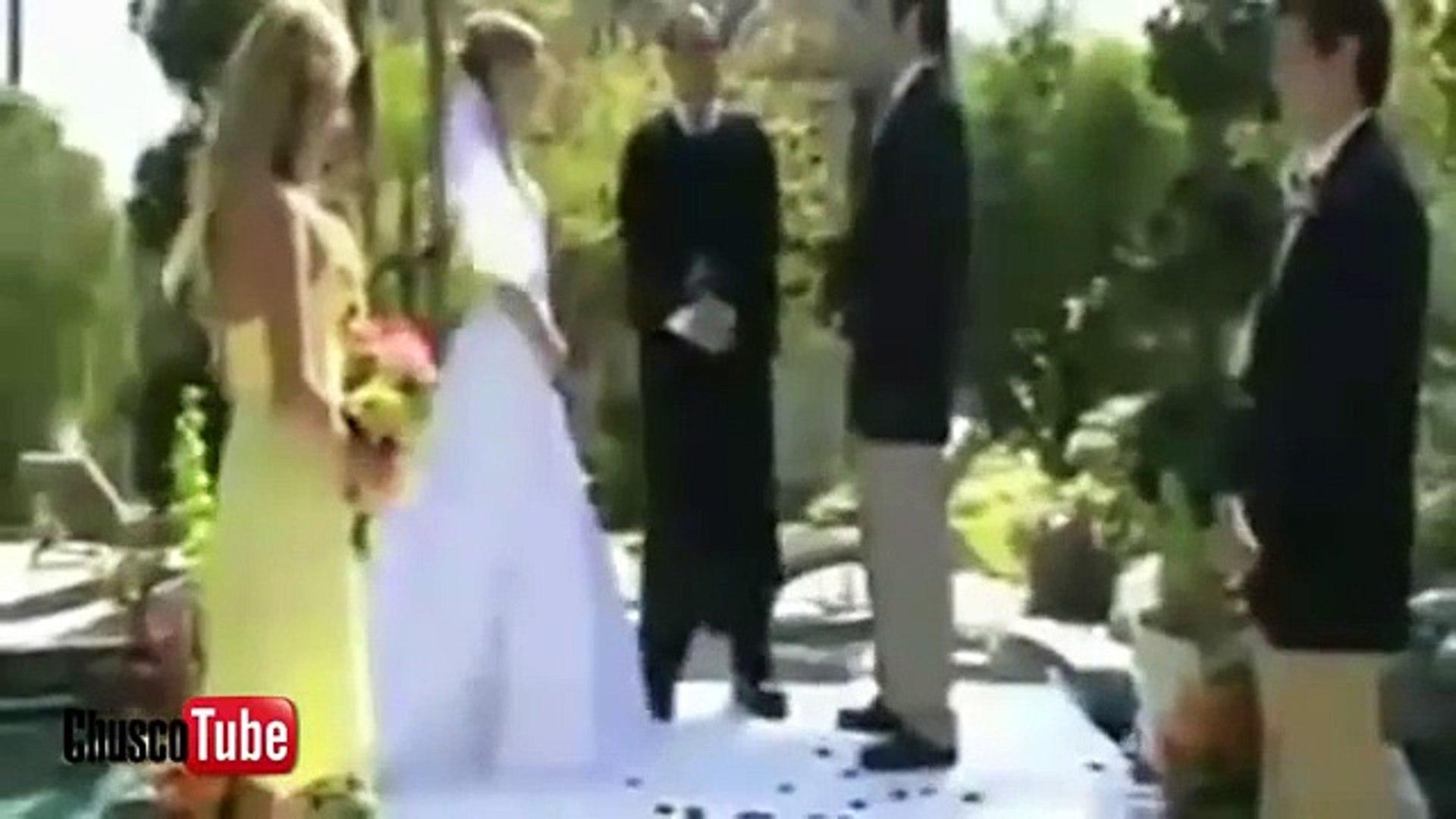 Videos chistosos - Los mejores fails en bodas