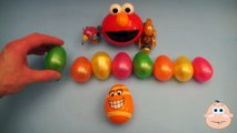 Kinder Surprise Egg Learn-A-Word! Spelling Play-Doh Shapes! Lesson 9 (Teaching Letters Opening Eggs)