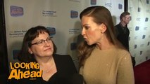 Hilary Swank and Judy Swank Red Carpet Interview | The Actors Fund's Looking Ahead Awards