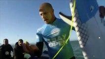 Mick Fanning atacado por un tiburón. Mick Fanning shark attack