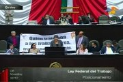 Aprueban diputados del PRI, PAN, Verde y Nueva Alianza, Reforma Laboral