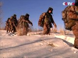 Chinese Army in Xinjiang Conducts Military Drill under Extreme Weather Conditions