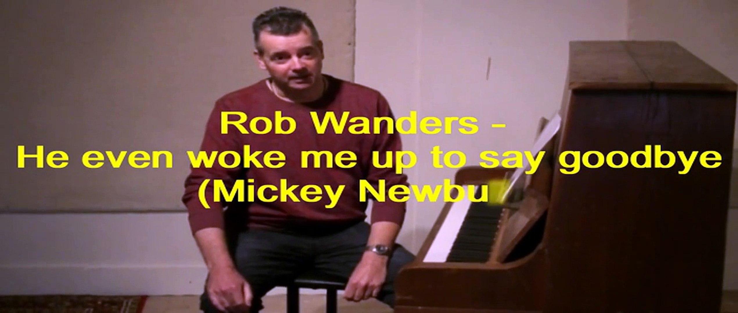 Me He Even Wanders Say Newbury To Rob Up Goodbyemickey Woke BCedxo