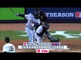 Transmisión del segundo juego de la Serie Mundial de Béisbol de las Grandes Ligas