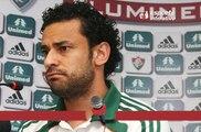 Fred, do Fluminense, rebate as críticas de Rodrigo, do Vasco