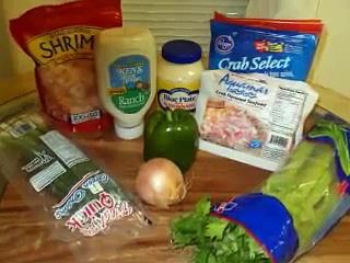 Crab Meat & Shrimp Salad