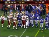 Brandon Jacobs facemask penalty