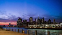 9-11 Tribute in Light - Brooklyn NYC - New York City Remembers